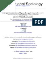 International Sociology 1998 Tomka 229 48