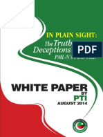 PTI White Paper on PML 1st year performance