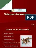 Tetanus Awareness: