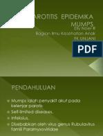 16. PAROTITIS  EPIDEMIKA