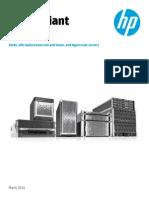 HP High Performance Servers Choices