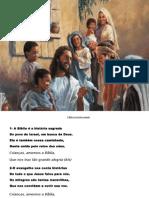 Missa Das Crianças Apresentação de Cantos
