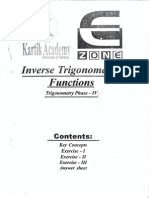 AIEEE IIT Study Material Maths Inverse Trigonometry