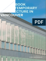A Guidebook to Contemporary Architecture in Vancouver (Art eBook)