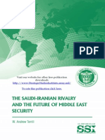 Saudi Iranian Conflict