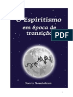 O Espiritismo Em Época de Transição (Saara Nousiainen)