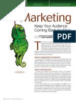 Marketing Stickiness