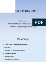 Turbin Gas Dan Uap (Fix Persentasi)