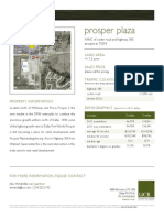 Prosper Plaza Property Flyer