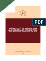 Peranan Ombudsman Dalam Pencegahan Korupsi