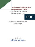 Fr Lhistoire de Jesus Et de Marie Telle Que Relatee Dans Le Coran
