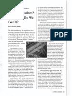 2004 Issue 1 - Restoring Christian Finances