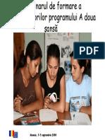 1. Programul ADS_caracteristici