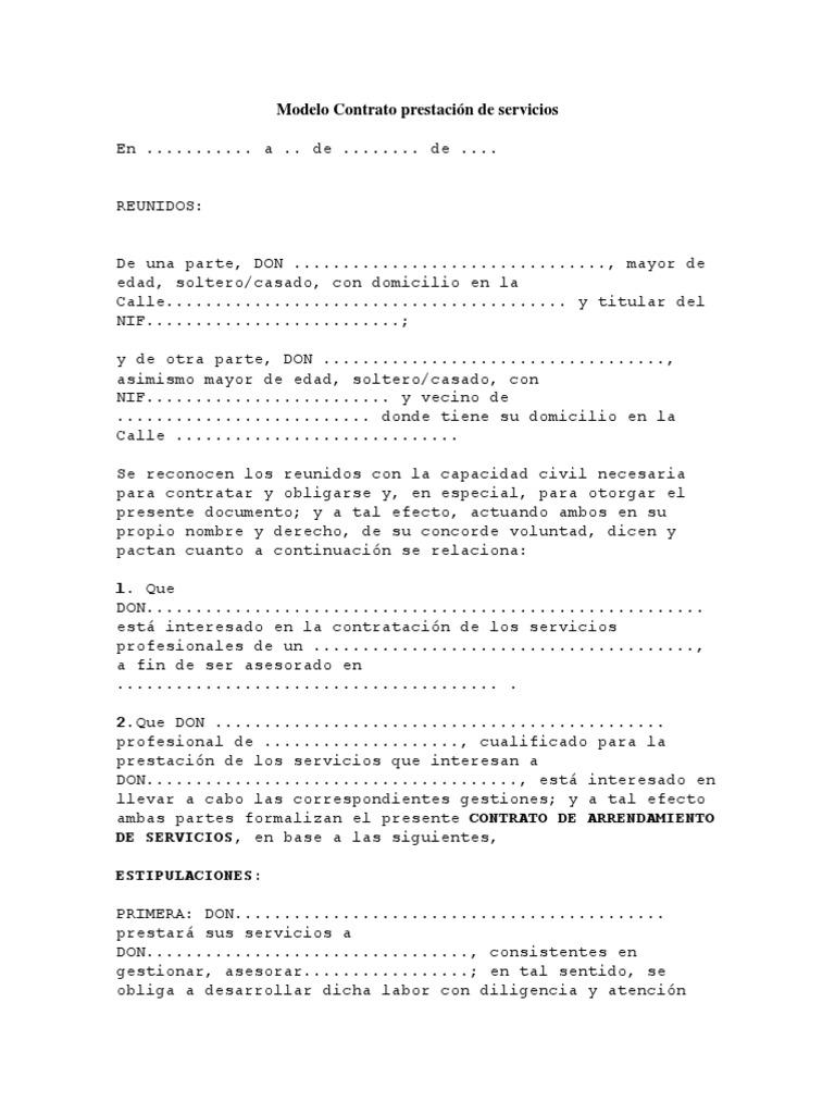 Modelo Contrato prestación de servicios.docx