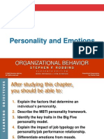 Chapter 4 Personality and Emotions