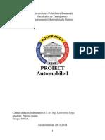 Proiect Auto I