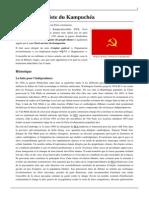 Parti Communiste Du Kampuchéa