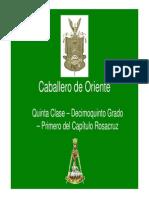 Grado 15 - Caballero de Oriente - Primera Parte.pdf