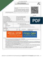 Bhardwaj Vatsa ticket