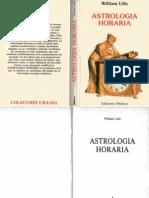 Astrología Horaria-William Lilly