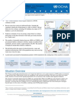 UN Gaza Emergency Situation Report as of 7 August 2014
