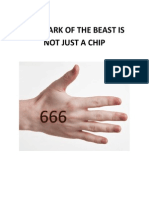 The Mark of the Beast is Not Just a Chip. (What is the Mark of the Beast? End Times. Tribulation. Antichrist.