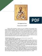 "Sf Grigorie de Nyssa ""Despre facerea omului"""