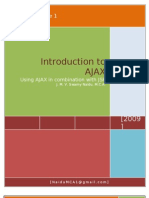 Introduction to AJAX with JSP by J. M. V. Swamy Naidu - M.C.A.