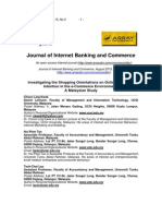 Kwek, Tan, Lau - 2010 - Investigating the Shopping Orientations on Online Purchase Intention in the E-Commerce Environment a Malaysian S