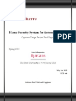 Home Security Final Report