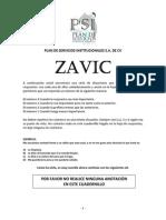 CUADERNILLO - ZAVIC