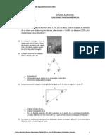 Guia de Ejercicios No2. Funciones Trigonometricas
