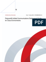 Polycom Unified Communications for Cisco Uc Manager Environments Admin Guide Enus