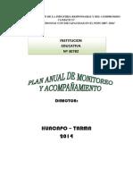Plan Anual de Monitoreo 2014