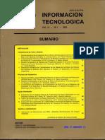Información Tecnologica 2002