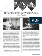 2005 Issue 4 - Giving Students the Whole Picture - Counsel of Chalcedon