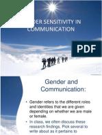 2.6 Gender Sensitivity in Communication