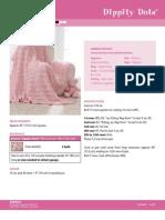 Blanket Bernat DippityDotsweb