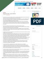 Programa Mais Médicos - Aspectos Trabalhistas - Entrevistas _ Carta Forense