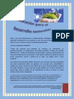 Ensayo Desarrollo Sostenible