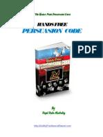 Hands Free Persuation Code 2014