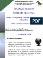 005-13 Cartografía y Sistema de Información Geográfica