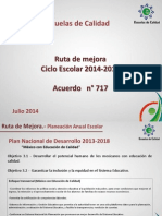Ruta de Mejora 2014-2015