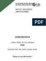 Presentacion de Proyecto Educativo Institucional