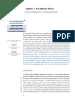 Evolución Reciente Del Empleo y El Desempleo en México
