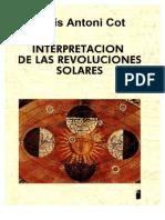Lluís Antoni Cot - Interpretación de Las Revoluciones Solares (122)