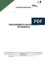 Procedimiento Instalacion de Bandeja Pil