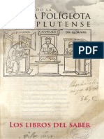 Catálogo Exposición Biblia Políglota Valdecilla