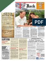Union Jack News – August 2014