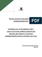 Texto Apoio Projec UFBA (1)